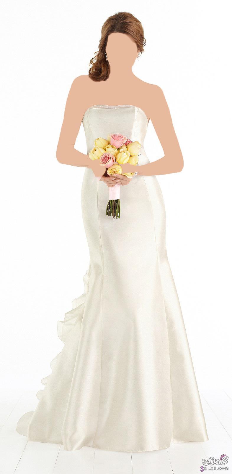 الرقة و الاناقة في فستان الزفاف