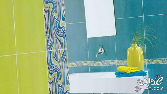 طرق لتزيين الحمامات الملونة 13764708042