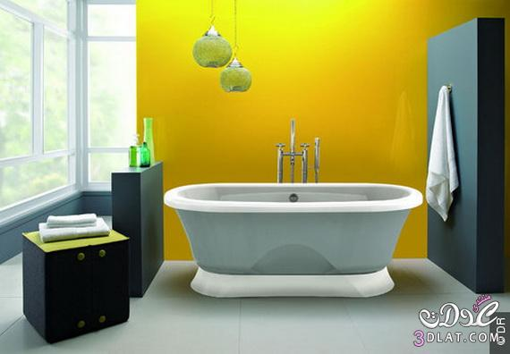 طرق لتزيين الحمامات الملونة 13764708058