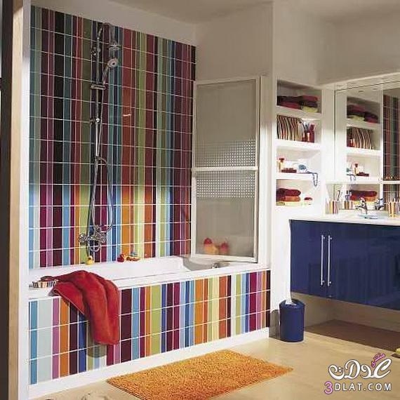 أفكار تزيين الحمامات الملونة 13764709663.jpg