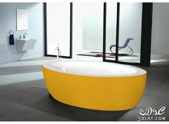 طرق لتزيين الحمامات الملونة 13764710503