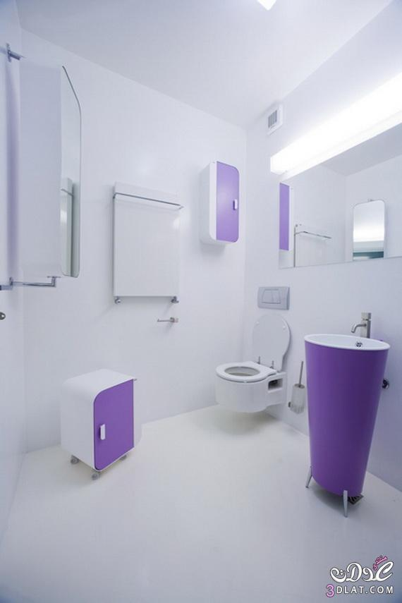 طرق لتزيين الحمامات الملونة 13764712663
