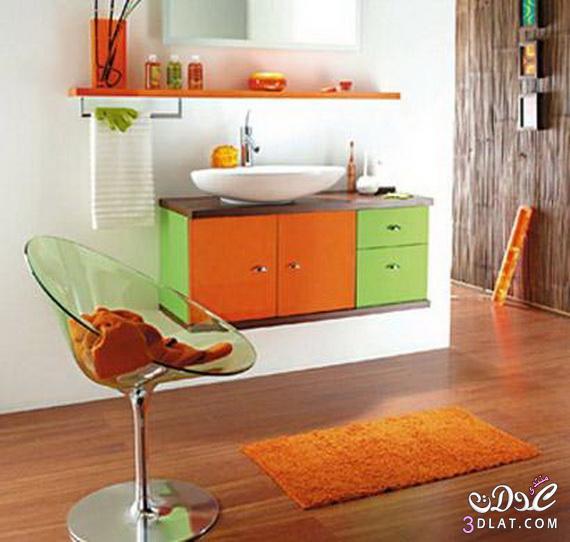 طرق لتزيين الحمامات الملونة 13764712664