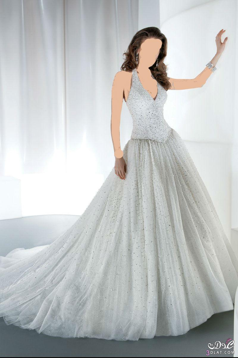 فستان زفاف حلو  ورقيق