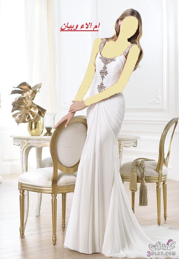 فساتين زفاف روعة لموسم 2021من اسبوع الموضة ببرشلونة,احلى فساتين زفاف واحدثها ج 3