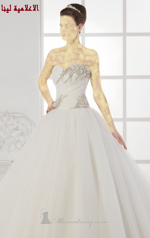 تألقي بفساتين الزفاف الفرنسية