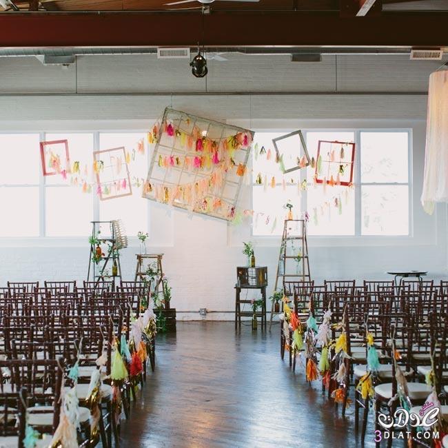 جددي حفل زفافك بافكار مختلفة