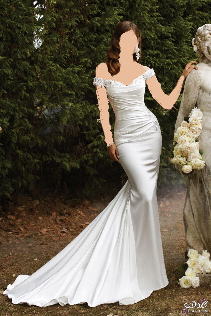فستان زفاف ناعم ورقيق