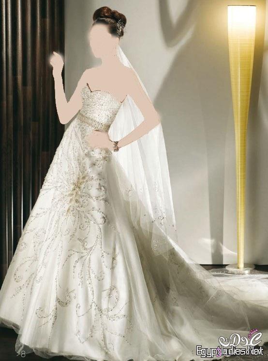 فساتين زفاف 2021 - فساتين زفاف للانيقات 2021 - عقبال كل العدولات