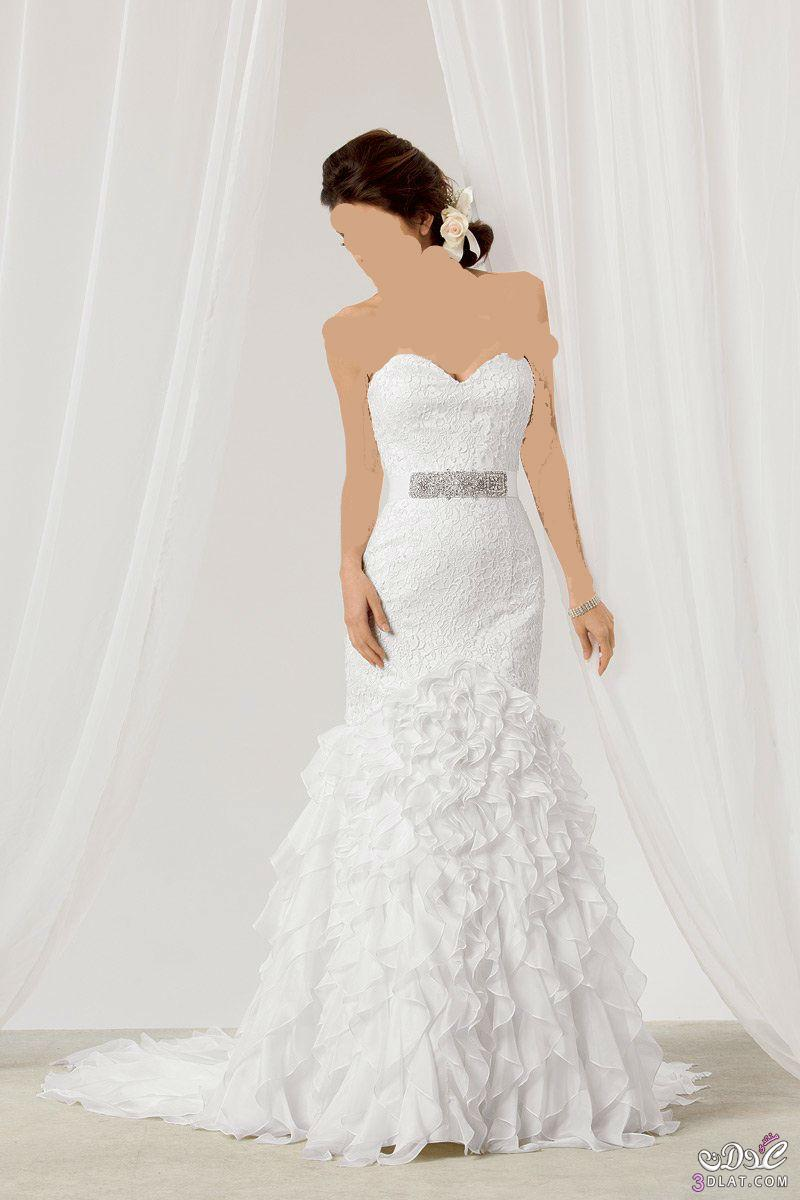 فساتين زفاف فخمة 2021 فساتين زفاف فخمة بتصميمات جديدة