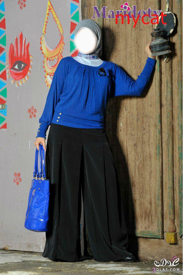 2c631acc6 ملابس روعة للمحجبات 2020 - ازياء بالوان مميزة للمحجبات 2020 - ازياء ...