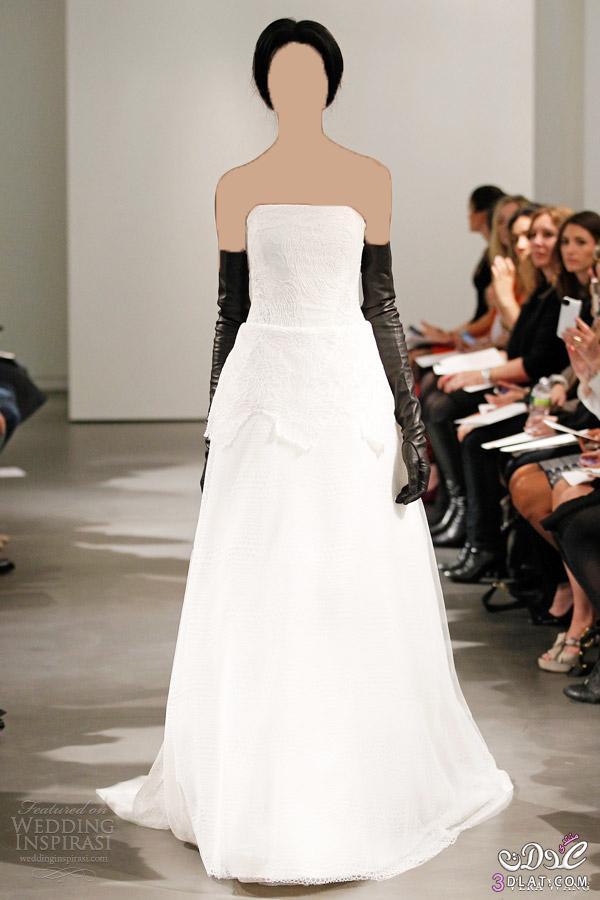 اغرب تصميمات لفساتين الزفاف لعام 2021