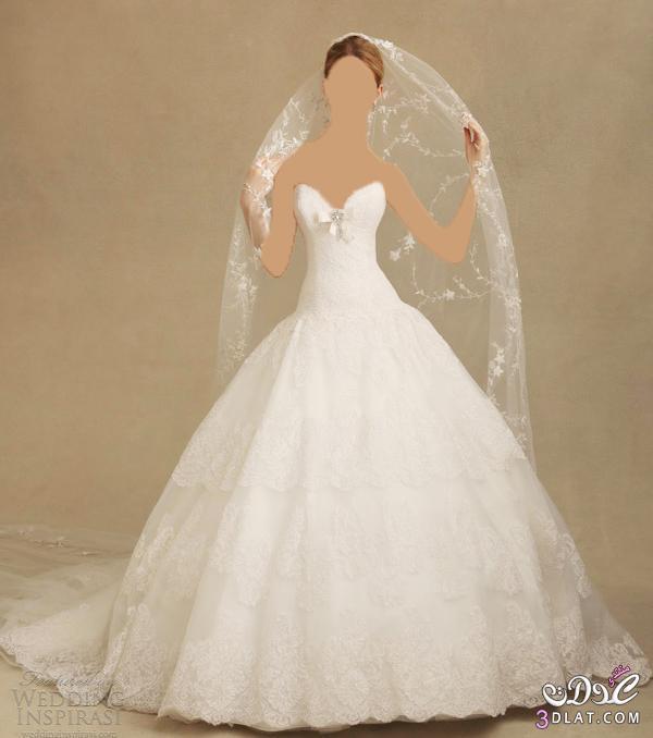اأنيقة و ارق فساتين زفاف