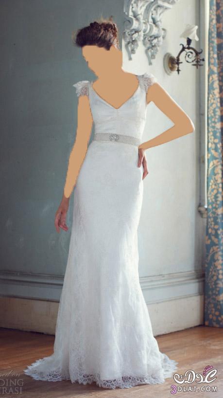 فستان فرح بسيط و راقي
