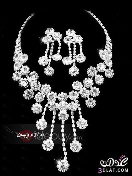 مجوهرات 2019  روعة للعروس,كوليهات للعروس,تشكيلة أطقم 2019  مجوهرات 2019  لاحلى عروس