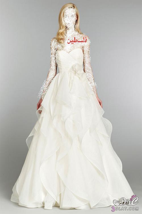 افخم فساتين زفاف خريف 2013 من تاراكيلي مجموعة فساتين روعة للعرائس