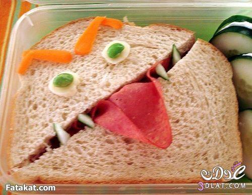 افكار لتزين اكلات طفلك 2013