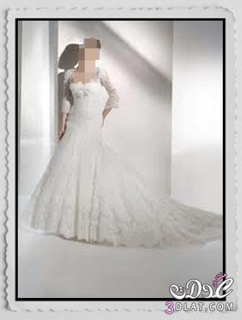 فساتين زفاف جميلة فساتين زفاف نعومة و حشمة  ارق فساتين زفاف