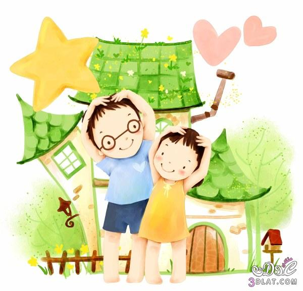 ,بطاقات طفولة,براويز بأشكال جميلة 13792774512