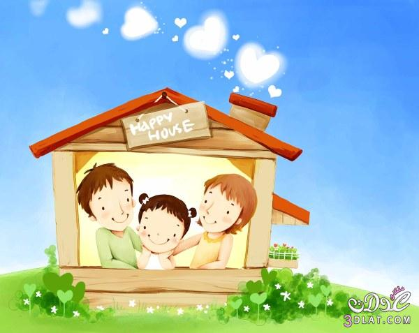 ,بطاقات طفولة,براويز بأشكال جميلة 13792774514