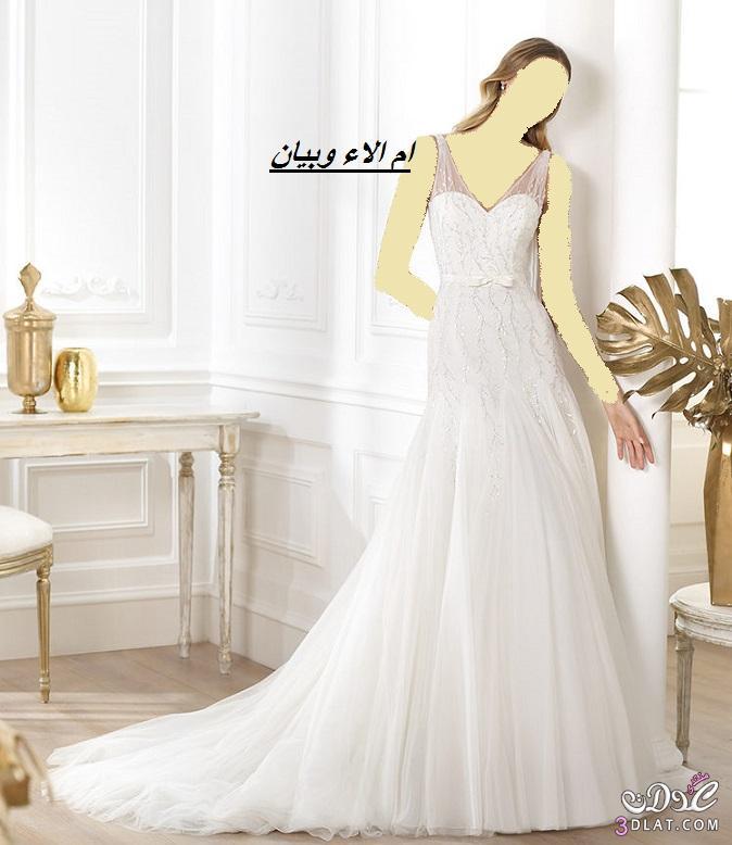 فساتين زفاف روعة لموسم 2021من اسبوع الموضة ببرشلونة,احلى فساتين لاحلى عروس 2021