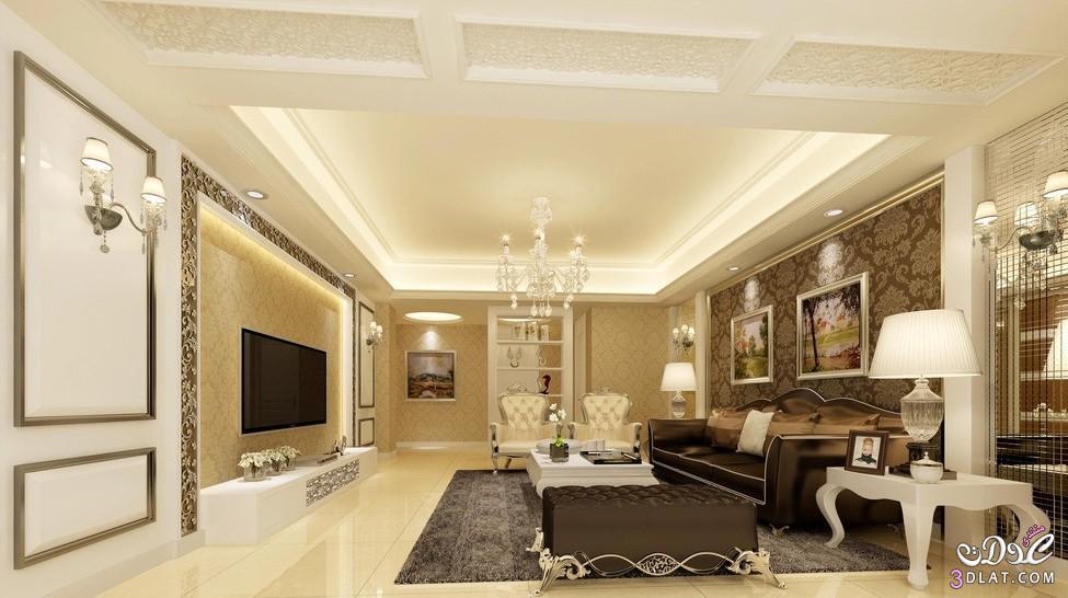 ديكورات غرف معيشة وانترية رائعة احدث انتريهات و leaving room فخمة