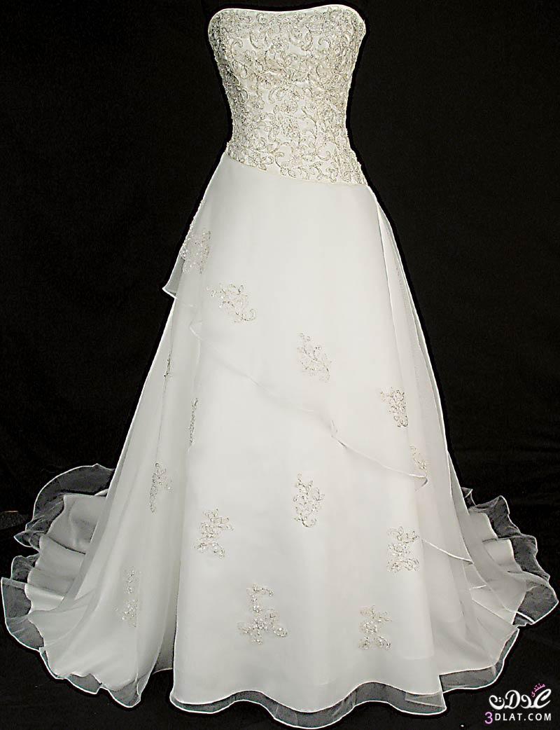 فساتيين زفاف لاجمل عروسة 2021 اروع فساتيين عروسة عرائس الجزائر2019
