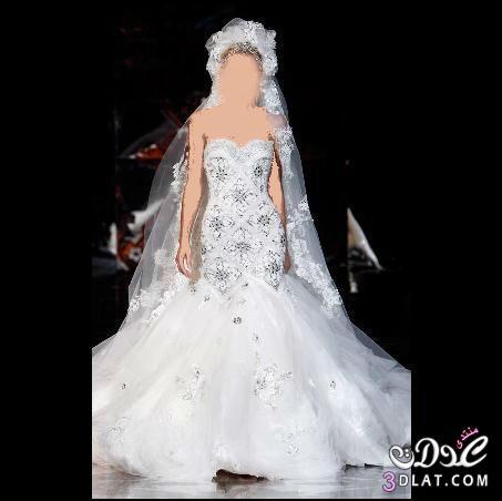 كونى متئلقه فى اجمل ليله العمر مع اجمل فستان زفاف