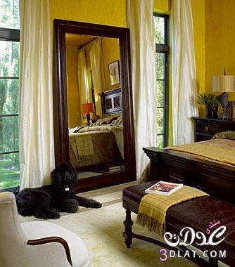 ديكورات مرايا لغرف النوم اجمل مرايا غرف النوم   روزة