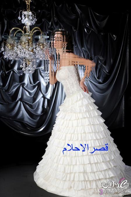 اجمل فساتين زفاف.ارقى فساتين زفاف