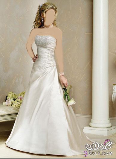 فساتين زفاف جميلة ورقيقة 2021 - فساتين زفاف للانيقات  2021 - فساتين 20