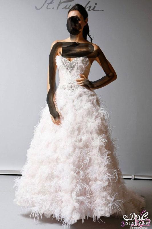 اجمل فساتين الزفاف عندى وبس