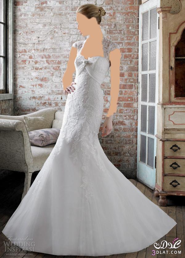 لو نفسك تبقي ملكة في فرحك يبقي لازم تدخلي فساتين زفاف ملكية