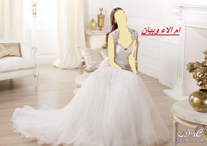 فساتين العروس 2021,احذث تشكيلة لفساتين الزفاف لاحلى عروس