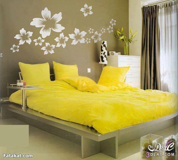 غرف نوم جميلة غرف نوم بالوان جذابة غرف نوم مميزة   فلسطين
