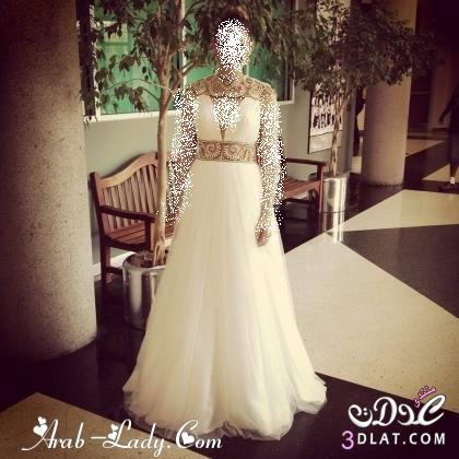 اجمل فساتين زفاف لاجمل عروسة