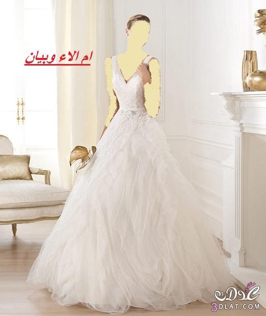 فساتين العروس 2021,تشكيلة رائعة لفساتين الزفاف لاحلى عروس