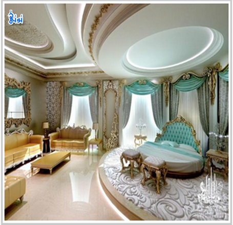 ديكورات قصور أفخم غرف لتجعل من بيتك قصرا ديكورات قصور فخمة جدا