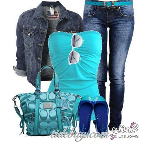كولكشن صيفي رائع2014,ازياء بناتي كاجوال,ملابس عملية انيقة 138412841410.jpg