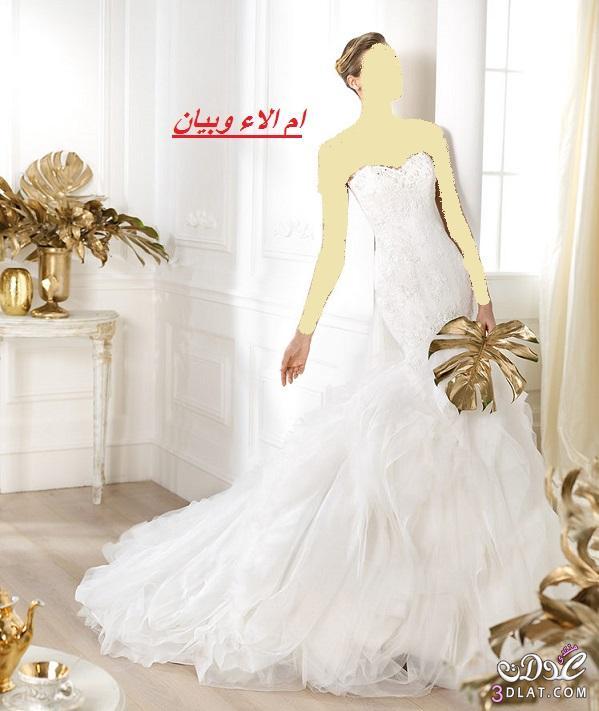 فساتين زفاف روعة لموسم 2021من اسبوع الموضة ببرشلونة,احلى فساتين زفاف واحدثها