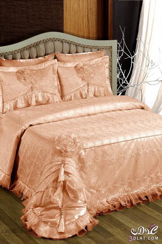 مفارش سرير للعرايس مفارش سرير روعة 138424514210.jpeg
