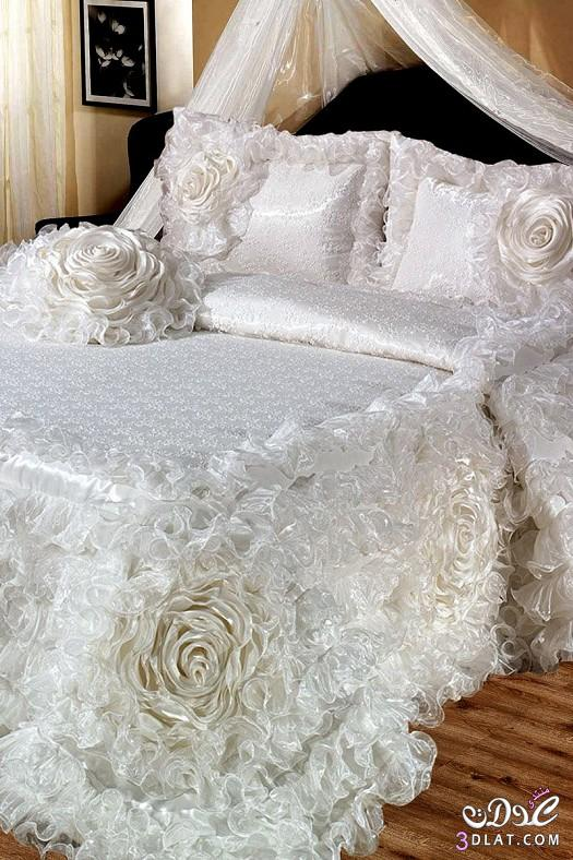 مفارش سرير للعرايس مفارش سرير روعة 13842451422.jpeg