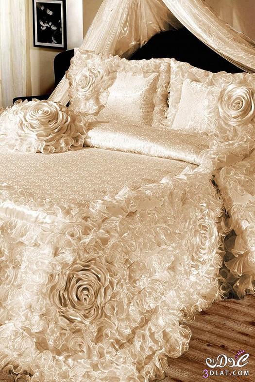 مفارش سرير للعرايس مفارش سرير روعة 13842451423.jpeg