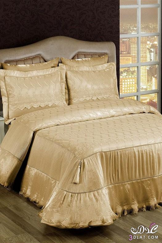 مفارش سرير للعرايس مفارش سرير روعة 138424514311.jpeg