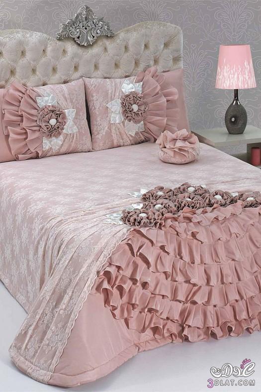 مفارش سرير للعرايس مفارش سرير روعة 138424514313.jpeg
