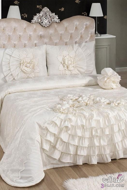 مفارش سرير للعرايس مفارش سرير روعة 138424514314.jpeg