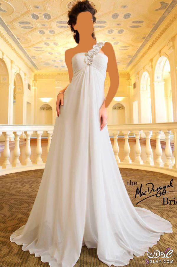 زي الملايكة بفستانك يا عروسة