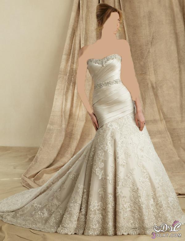 فساتين زفاف تحكي عن الشياكة و الفخامة