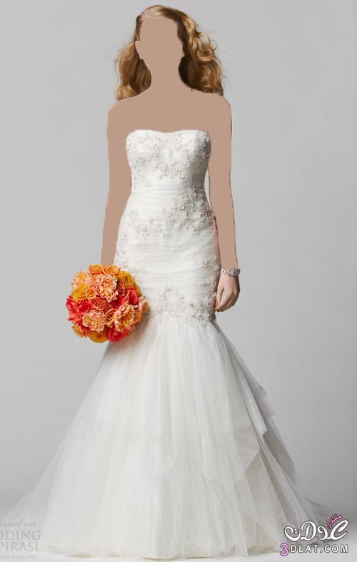 فساتين زفاف رقيقة تناسب كل الاذواق و المقاسات
