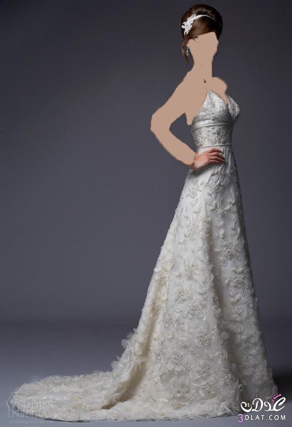 تعالي شوفي الفخامة و الرقه في احلي فساتين زفاف
